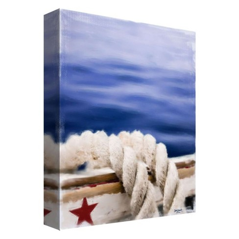 "Sea Trip Decorative Canvas Wall Art 11""x14"" - PTM Images - image 1 of 1"