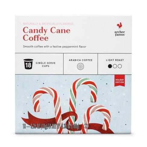 Candy Cane Light Roast Coffee - Single Serve Pods 18ct - Archer Farms™ - image 1 of 1