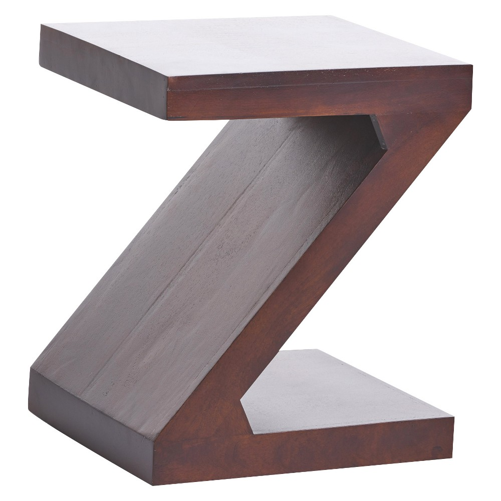 Annette End Wood Table Brown - Christopher Knight Home