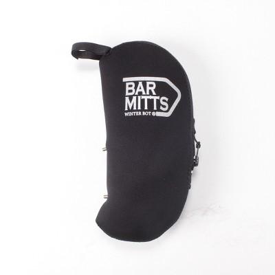 Bar Mitts Winter Bot Pogie Water Bottle Mitten Black