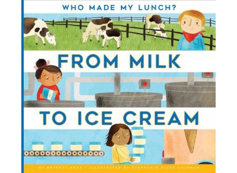 From Milk to Ice Cream (Reprint) (Paperback) (Bridget Heos) - image 1 of 1