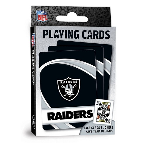 NFL Oakland Raiders Playing Cards - image 1 of 4