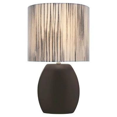 Lite Source Reiko 1 Light Table Lamp - Black