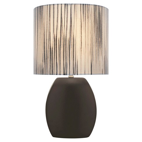 Lite Source Reiko 1 Light Table Lamp (Lamp Only) - Black - image 1 of 2
