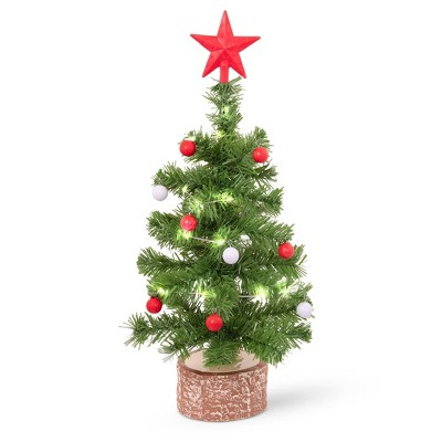 """Our Generation Holiday Tree with Lights for 18"""" Dolls - Merry & Bright"""