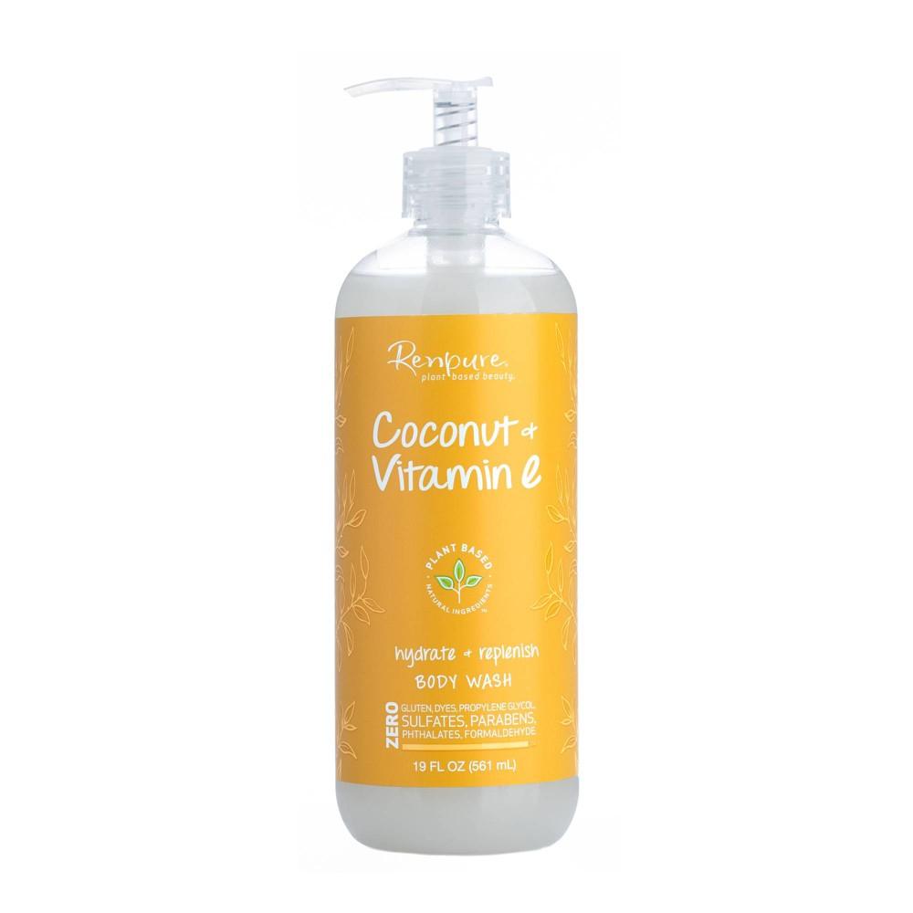 Image of Renpure Coconut & Vitamin E Body Wash - 19 fl oz