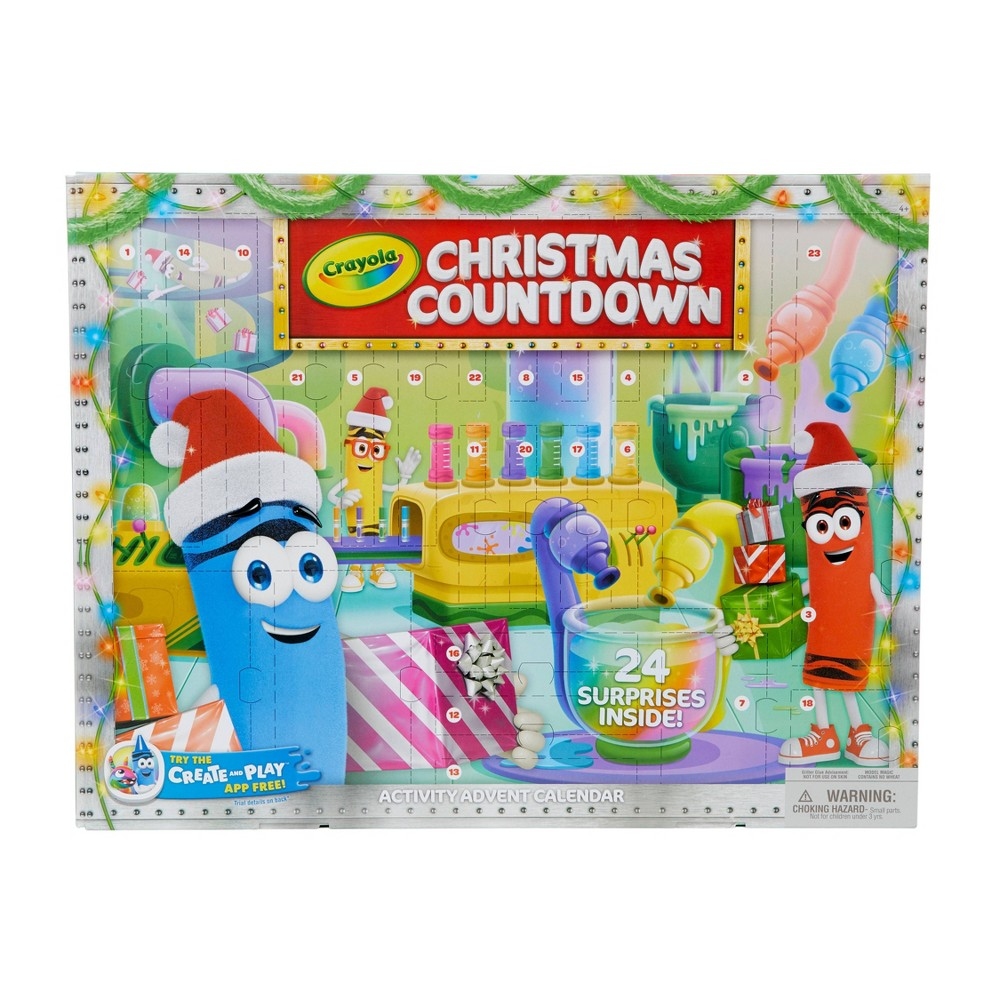 Crayola Christmas Countdown 2.0 was $14.79 now $7.39 (50.0% off)
