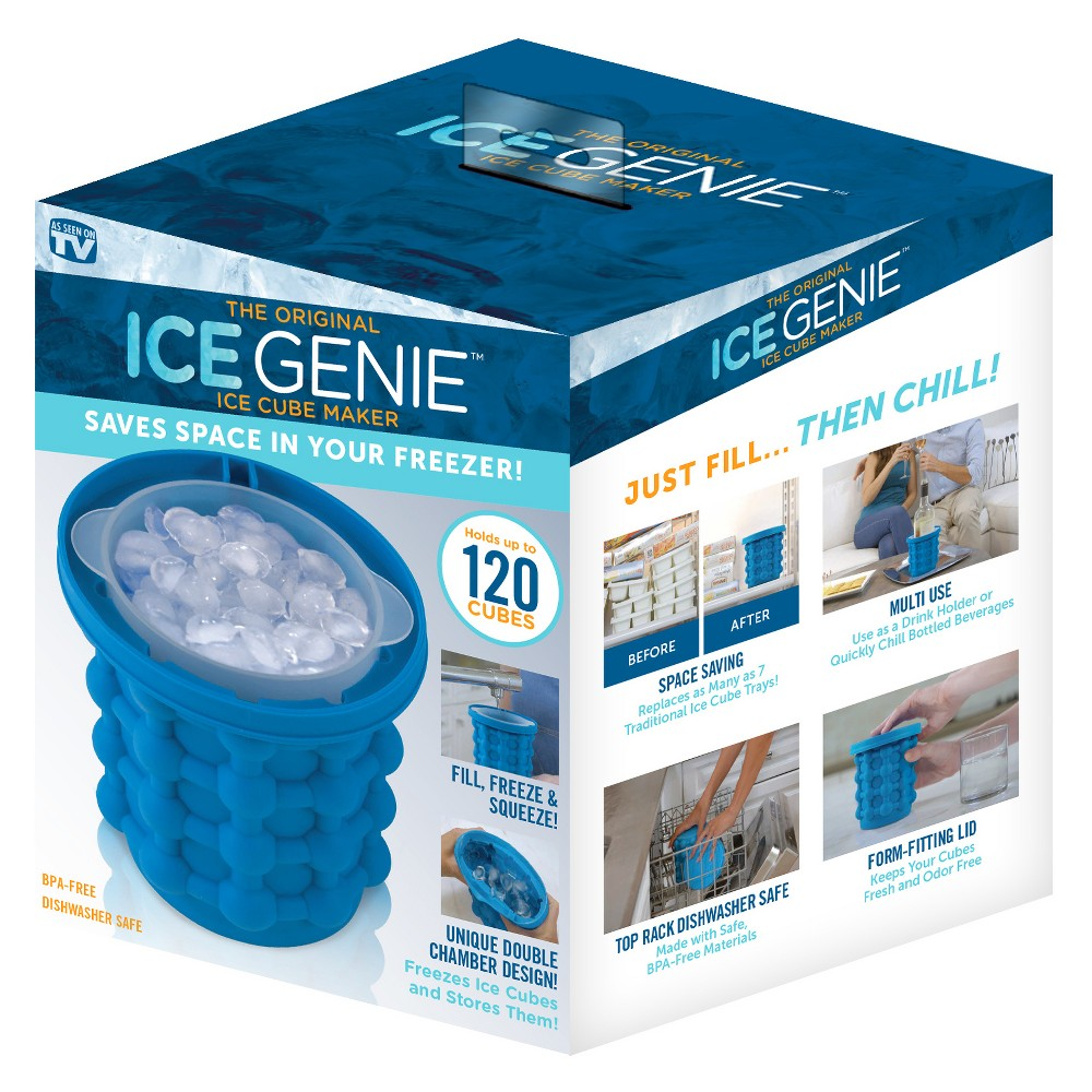 As Seen on TV Ice Genie Blue