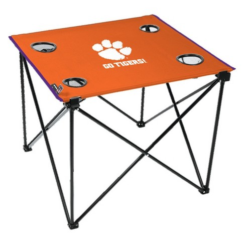 NCAA Clemson Tigers Portable Table - image 1 of 1