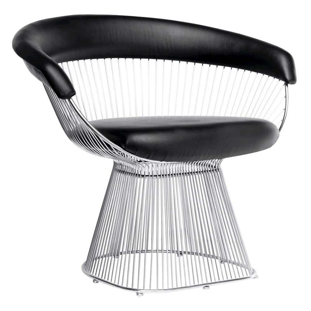 Libo Dining Chair - Black - Fine Mod Imports