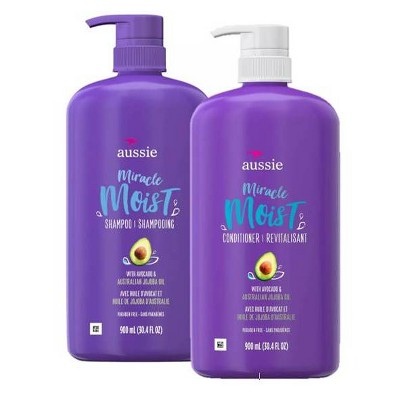 Aussie Miracle Moist Shampoo and Conditioner - Bundle