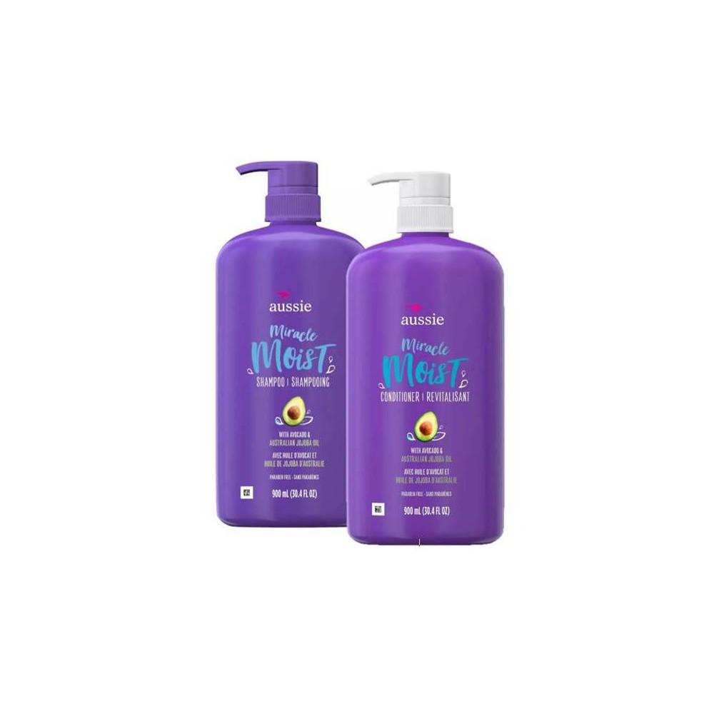 Aussie Miracle Moist Shampoo And Conditioner Bundle Ibt Shop