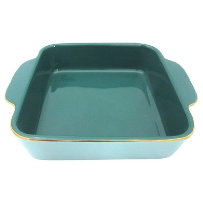 Blue & Gold Open Baking Dish - Threshold™