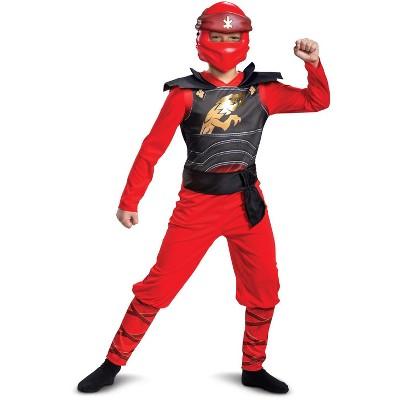 Ninjago Kai Legacy Jumpsuit Classic Child Costume