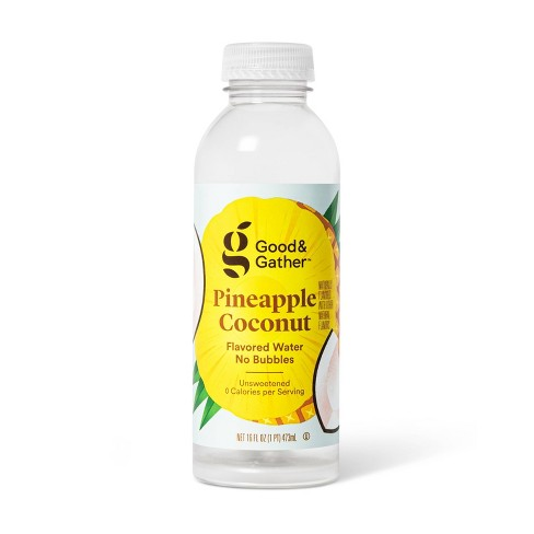 Pineapple Coconut Flavored Water - 16 fl oz Bottle - Good & Gather™ - image 1 of 2