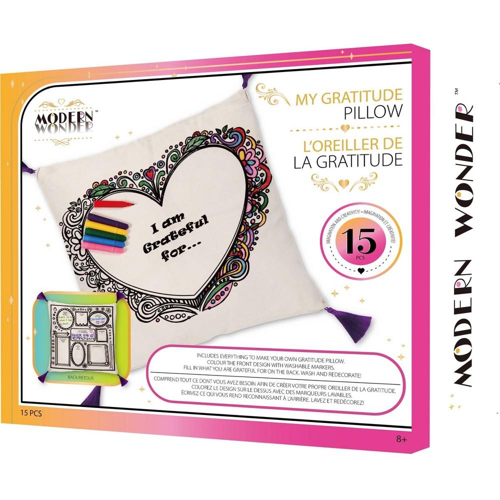 My Gratitude Pillow Craft Kit Modern Wonder