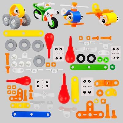 64pc Build Your Own Car Kit - Bullseye's Playground™