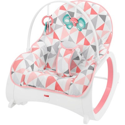 Fisher-Price Infant-to-Toddler Rocker in Pink Windmill