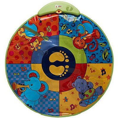 Jolly Jumper Musical Play Mat, Cushioned Activity Mat for Newborns and Babies