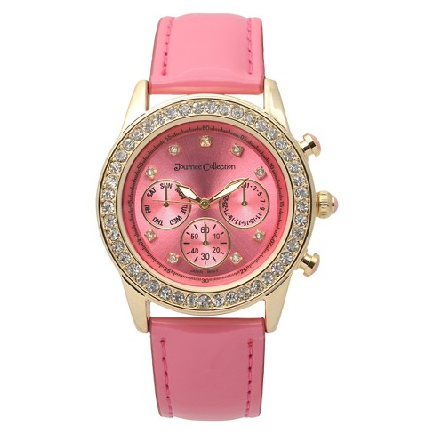 Journee Collection Women's Watch Pink Gold - image 1 of 2