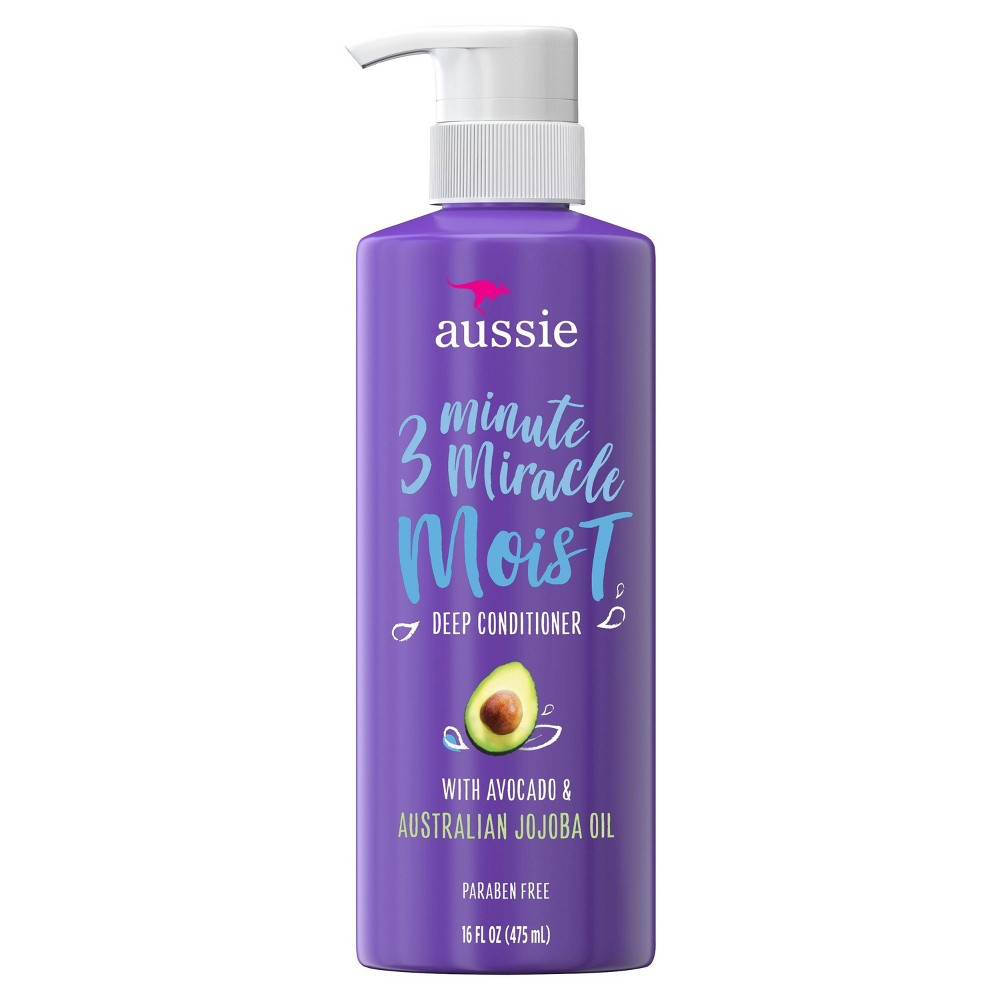 Image of Aussie 3 Minute Miracle Moist Deep Conditioner - 16 fl oz
