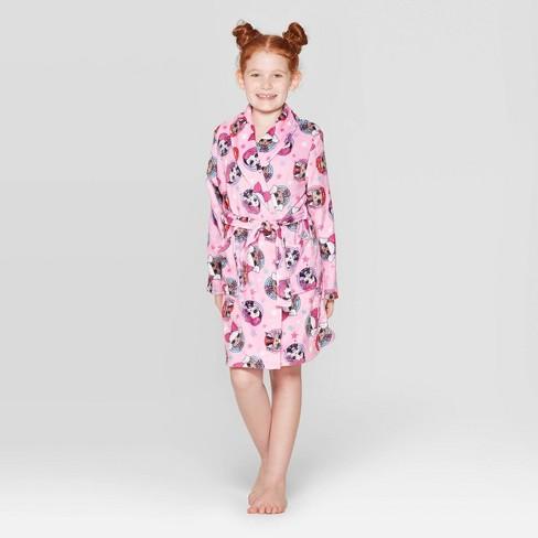 Girls' L.O.L. Surprise! Robe - Pink - image 1 of 3