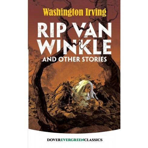 theme of rip van winkle by washington irving