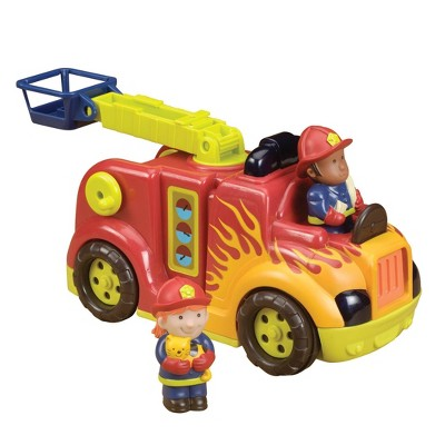 B. toys Toy Fire Truck RRROLL Models - Fire Flyer