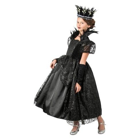 Halloween Costumes For Girls.Girls Dark Princess Halloween Costume