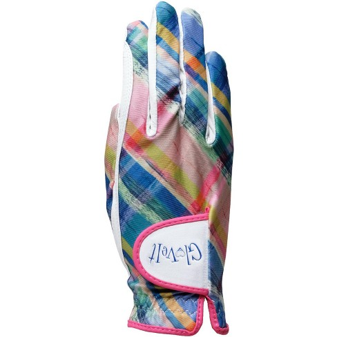 Glove It Women's Golf Glove Plaid Sorbet - image 1 of 4