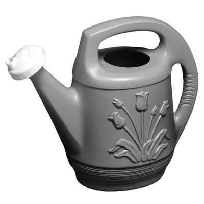 2gal Promo Watering Can With Rotating Nozzle - Peppercorn - Bloem