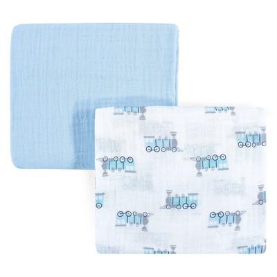 Luvable Friends Unisex Baby Muslin Cotton Swaddle Blanket