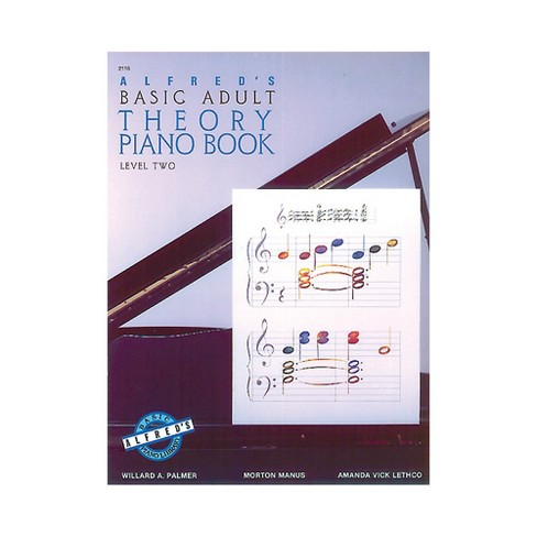 Alfred Alfred's Basic Adult Piano Course Theory Book 2 - image 1 of 1