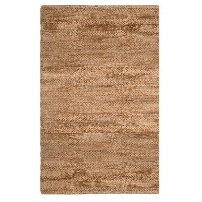 Natural Solid Woven Area Rug 5'X8' - Safavieh
