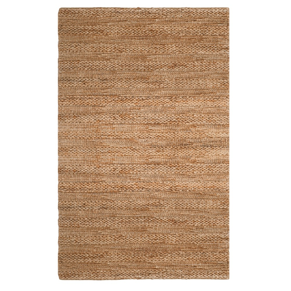 Best Natural Solid Woven Area Rug 5X8 Safavieh