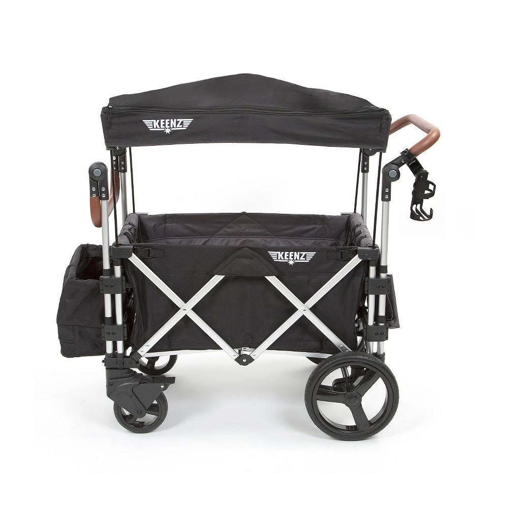Keenz 7S Multi Seat Stroller Wagon - Black