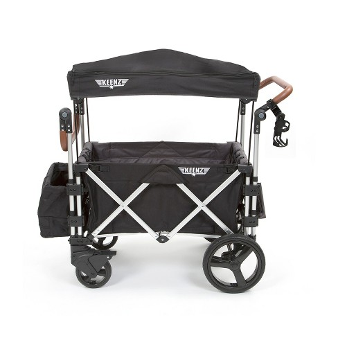 Keenz 7s Double Stroller Wagon- Black - image 1 of 7
