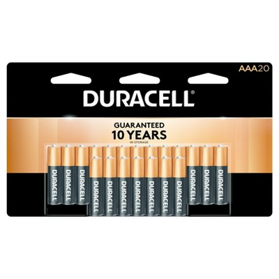 Duracell Coppertop AAA Batteries - 20ct