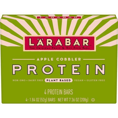 Larabar Protein Apple Cinnamon Nutrition Bar - 4ct - image 1 of 3