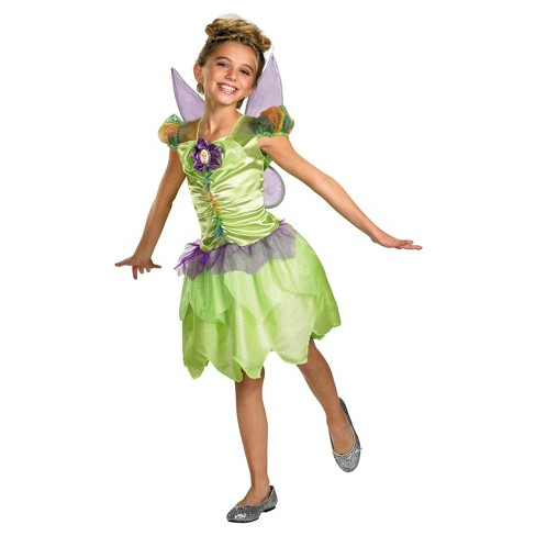 Girls' Tinker Bell Rainbow Costume 3t-4t - image 1 of 1