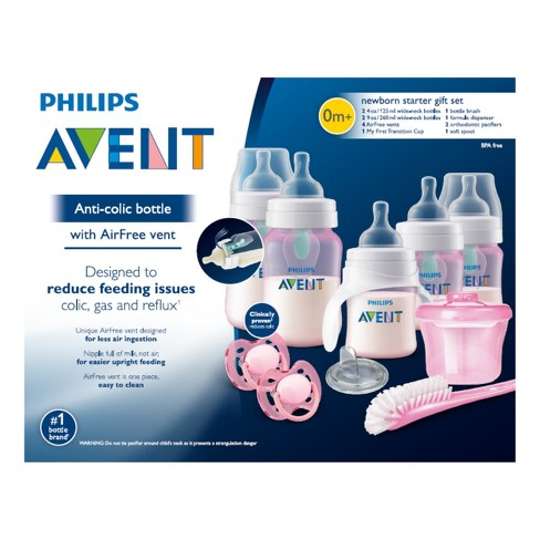 28a8b272f09c Philips Avent Baby Bottle Gift Set - Pink   Target