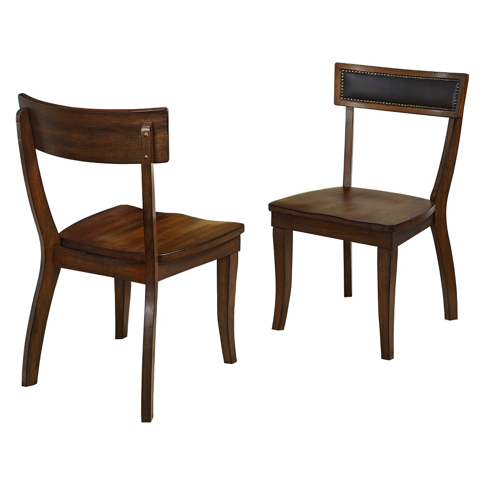Heston Dining Chair (Set of 2) Antique Black - Buylateral