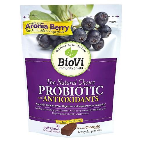 BioVi Probiotic Soft Chews - Chocolate Flavor - 30ct - image 1 of 1