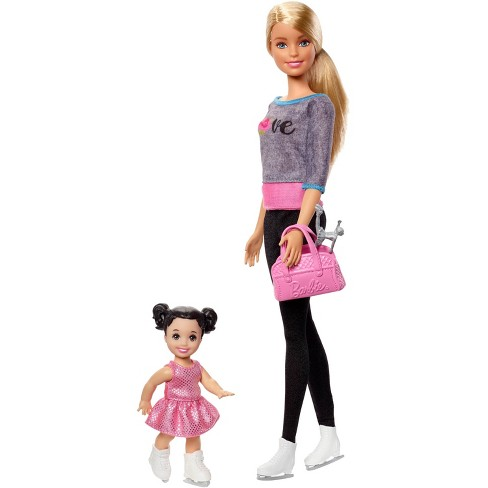 Barbie Ice-skating Coach Dolls & Playset - image 1 of 8