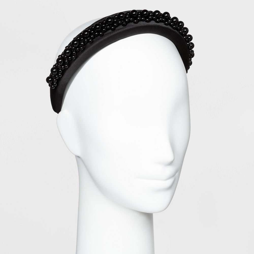 Image of SUGARFIX by BaubleBar Beaded Headband - Black