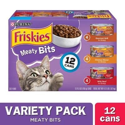 Cat Food: Friskies Meaty Bits