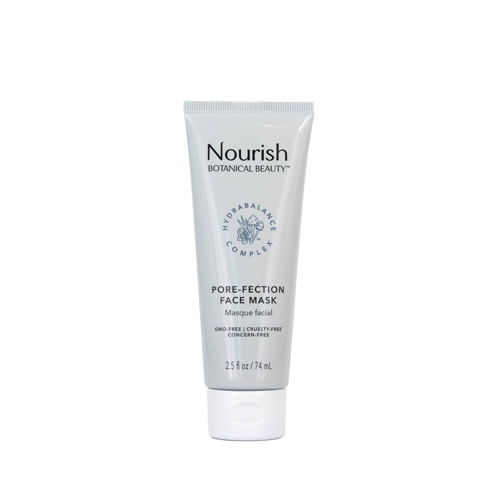 Nourish Organic Botanical Beauty Pore Fection Face Mask 2 5 Fl Oz