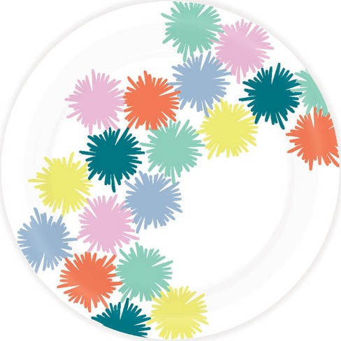 Paper Dinner Plate Multicolor - Spritz™ - image 1 of 1