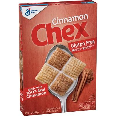 Cinnamon Chex Gluten Free Breakfast Cereal - 12oz - General Mills