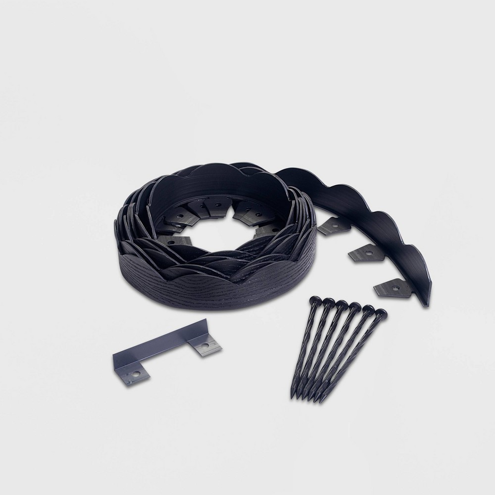 Image of 20' No-Dig Garden Edging Kit Black - EasyFlex